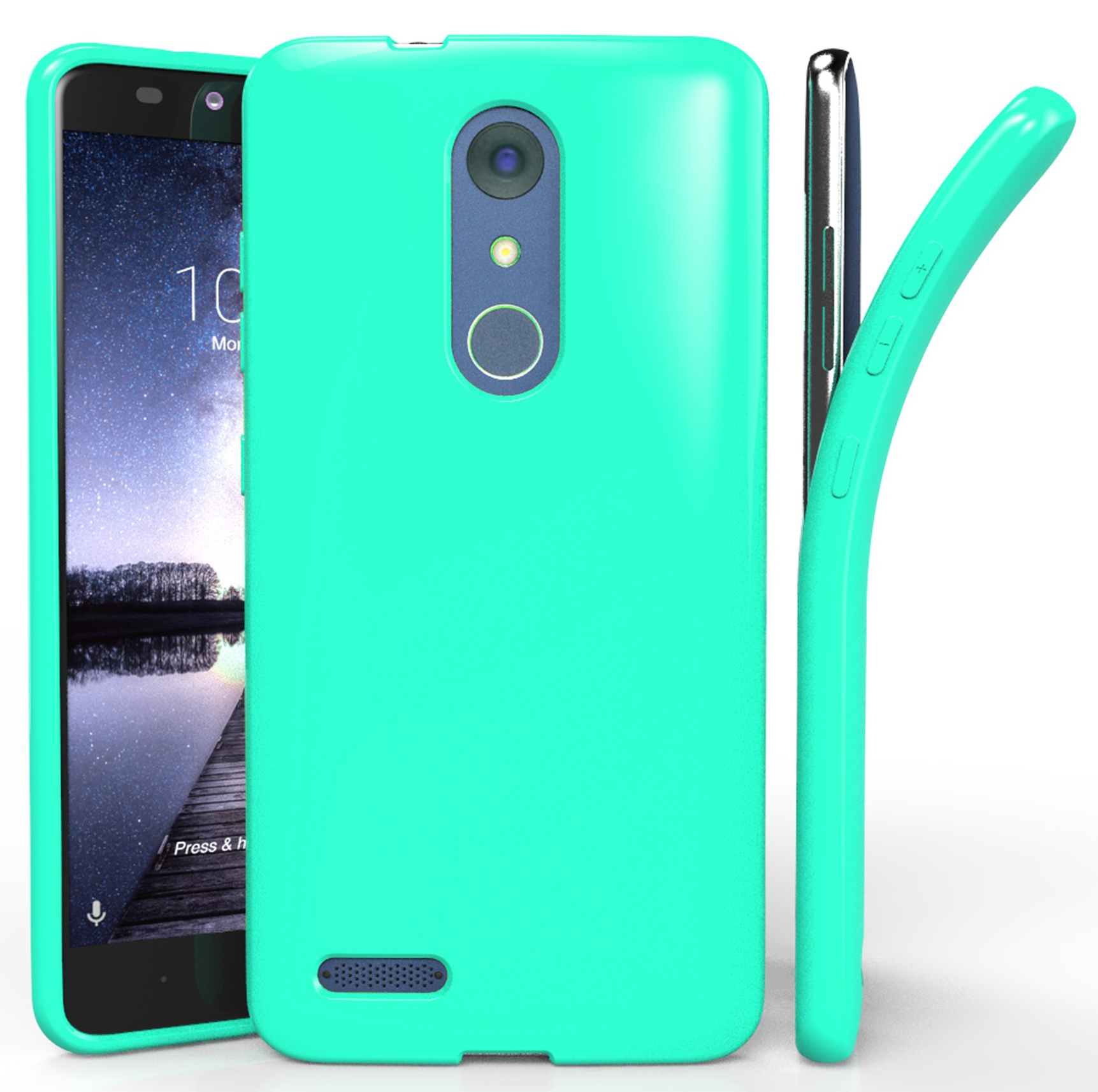 size 40 6bc54 dc250 ZTE ZMAX PRO CASE, NEW FLEX GEL TPU SKIN CASE COVER FOR ZTE ZMAX PRO Z981  (METROPCS, T-MOBILE)