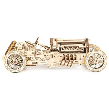 UGears Grand Prix Car Mechanical Model