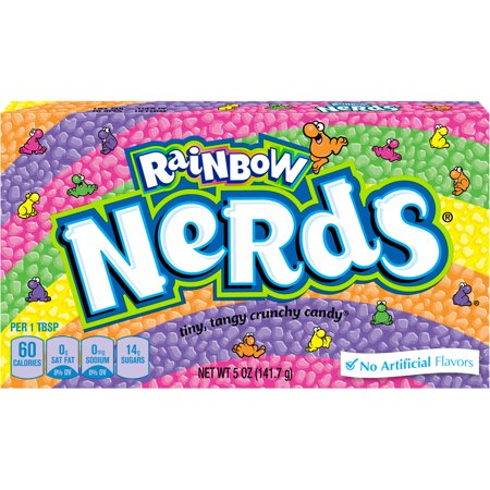 Nerds Rainbow Hard, Crunch Candy, 5 Oz, 12 Count for $<!---->