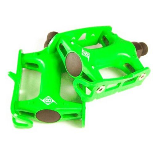 Origin8 Pro Track Light Fixed Gear Green Bike Pedals