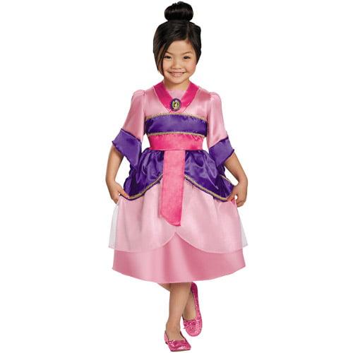 Girls' Mulan Sparkle Classic Costume