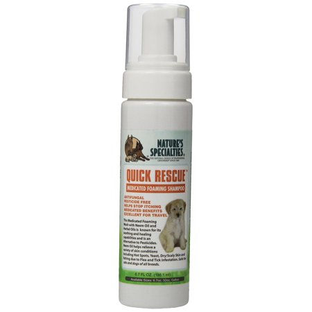Nature's Specialties Quick Rescue Foaming Facial Wash for Pets, 6.7-Ounce
