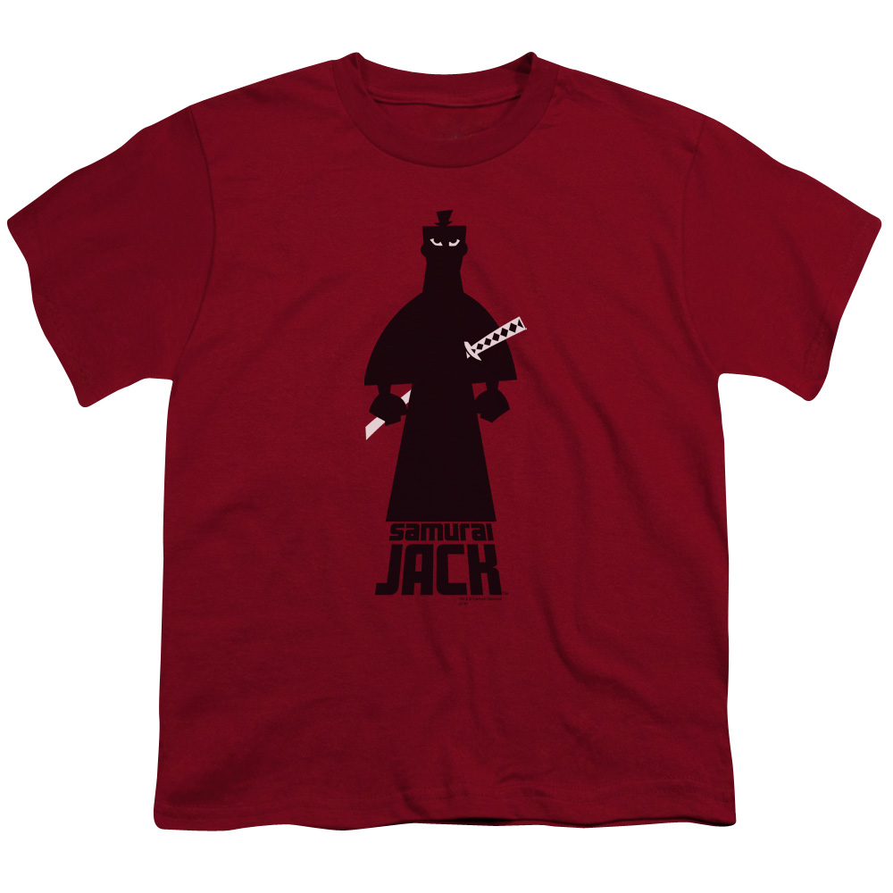 Samurai Jack Silhouette Big Boys Shirt