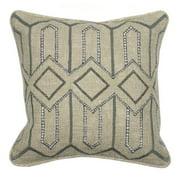 Kosas Home  Evan Grey 18-inch x 18-inch Pillow