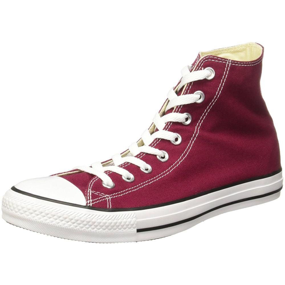 Converse M9613C-100 Men's Chuck Taylor All Star Hi Shoes, Red, 10 D(M) US