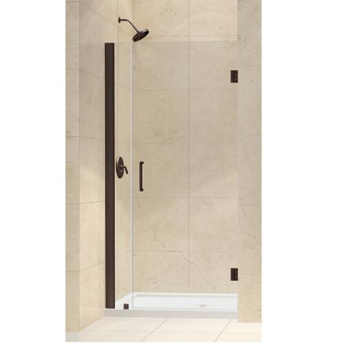 Dreamline Unidoor 29 Inch Min To 30 Inch Max Frameless Hinged Shower