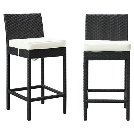 Modway Lift Bar Stool Outdoor Patio, Set of 2, Multiple Colors ()