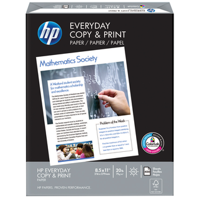 Hewlett Packard Everyday Copy and Print Paper - Quantity of 6 - PT -  200010