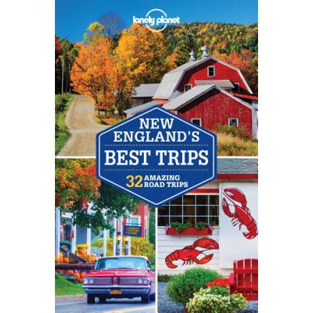 Lonely planet new england's best trips - paperback: