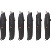 Olympia Tools 6-Piece Retractable Utility Knife Bundle