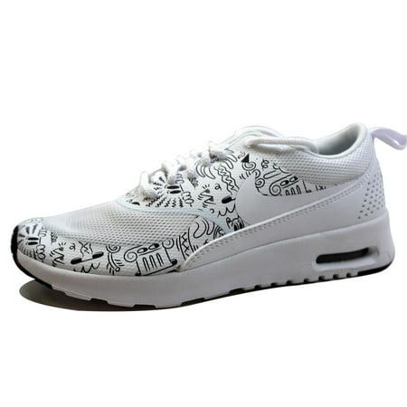 quality design e2fa8 8f623 Nike - Nike Women s Air Max Thea Print White White-Black 599408-103 -  Walmart.com