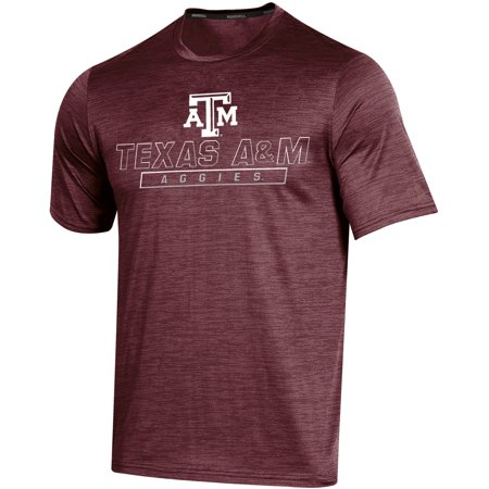 Texas A&m Aggies University (Men's Russell Maroon Texas A&M Aggies Synthetic Impact T-Shirt)
