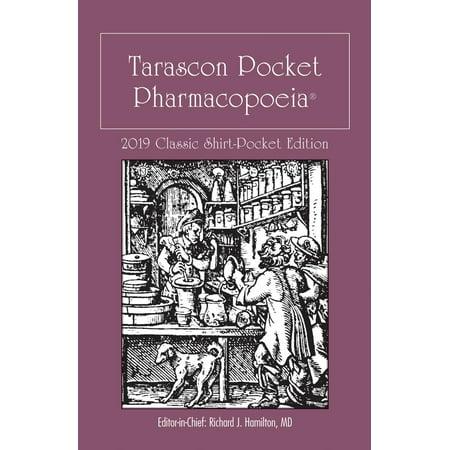 Tarascon Pocket Pharmacopoeia 2019 Classic Shirt-Pocket