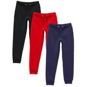 GBH Boy's Slim-Fit Fleece Jogger Sweatpants (S-XL)(3-Pack)