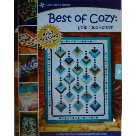 Quilt Book, Best of Cozy, Strip Club Edition, by Daniela Stout