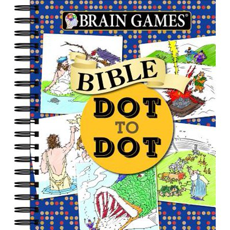 Brain Games Bible Dot to Dot - Dot To Dot Game