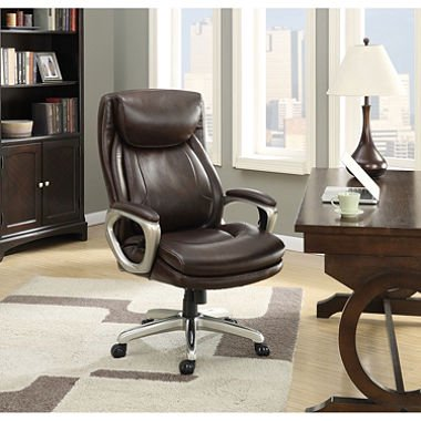 La Z Boy Connelly Big   Tall Executive Chair  Brown