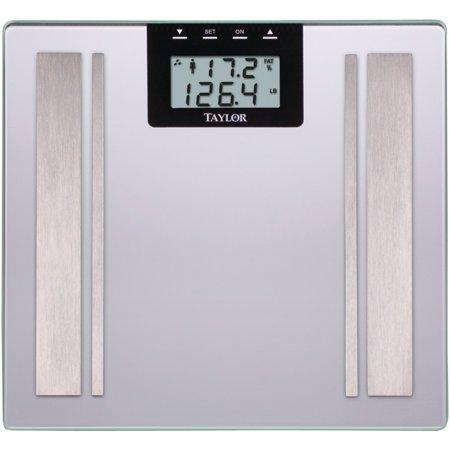 Taylor Body Fat Digital Scale (silver) TAP57364102F