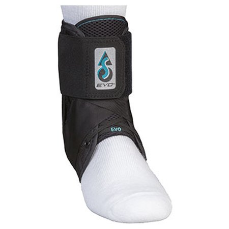NEW MedSpec EVO Ankle Stabilizer Brace Black (Small)