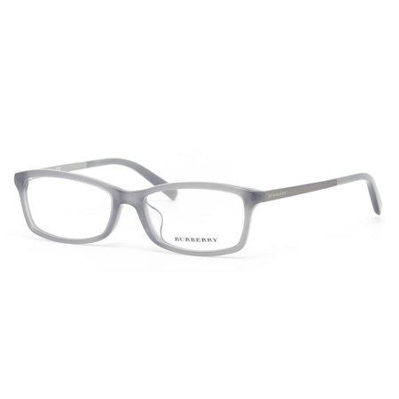 Burberry BE2186D-3371 Rectangular Men's Grey Frame Genuine Eyeglasses (Burberry Men's Eyeglass Frames)