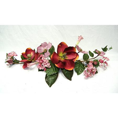 28 crinkle silk rose swag walmart 28 crinkle silk rose swag mightylinksfo