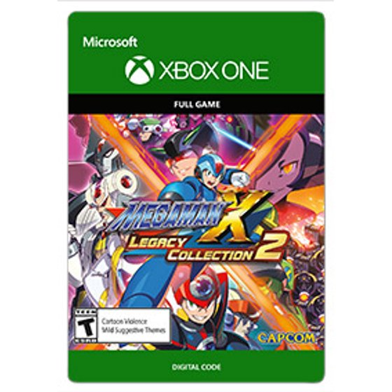 Mega Man X Legacy Collection 2, CAPCOM USA, XBOX One, [Digital Download]