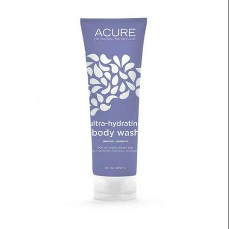 Ultra-Hydrating Coconut Pumpkin Body Wash Acure Organics 8 o