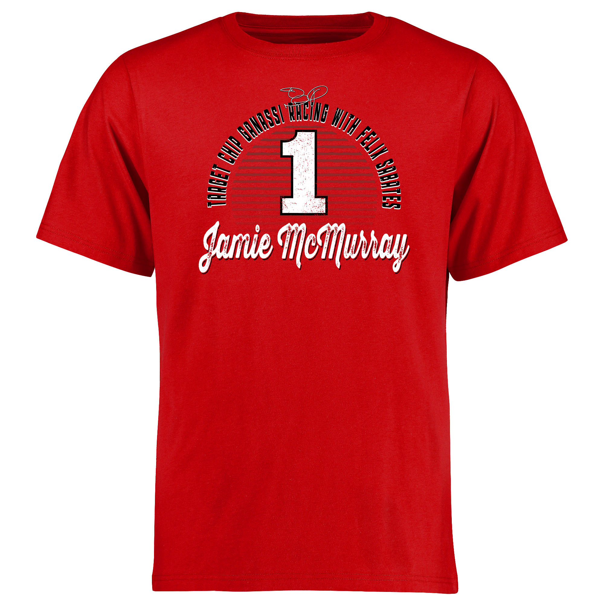 Jamie McMurray Race Day T-Shirt - Red