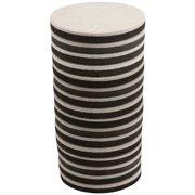 """Super Sliders 3 1/2"""" Round Hardwood Floor Furniture Sliders, 16 Pack"""