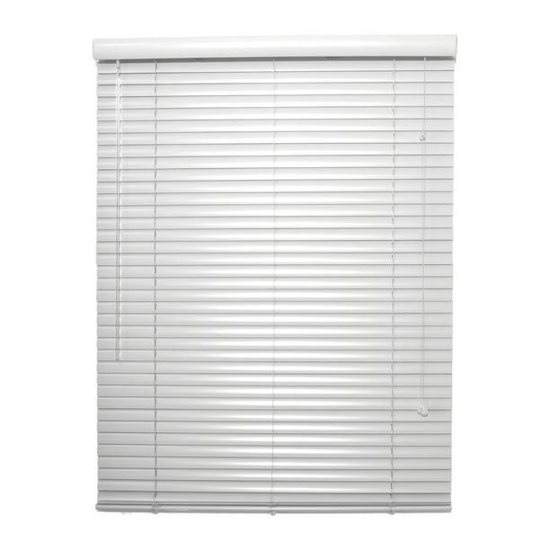 1 Inch White Aluminum Mini Blind 31