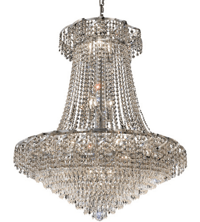Elegant Lighting ECA4D30C/RC Chandeliers Chrome Belenus Chrome