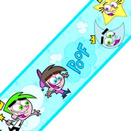 Fairly Odd Parents Nickelodeon Wall Paper Border