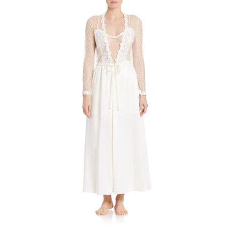 - Flora Nikrooz Showstopper Charmeuse Robe