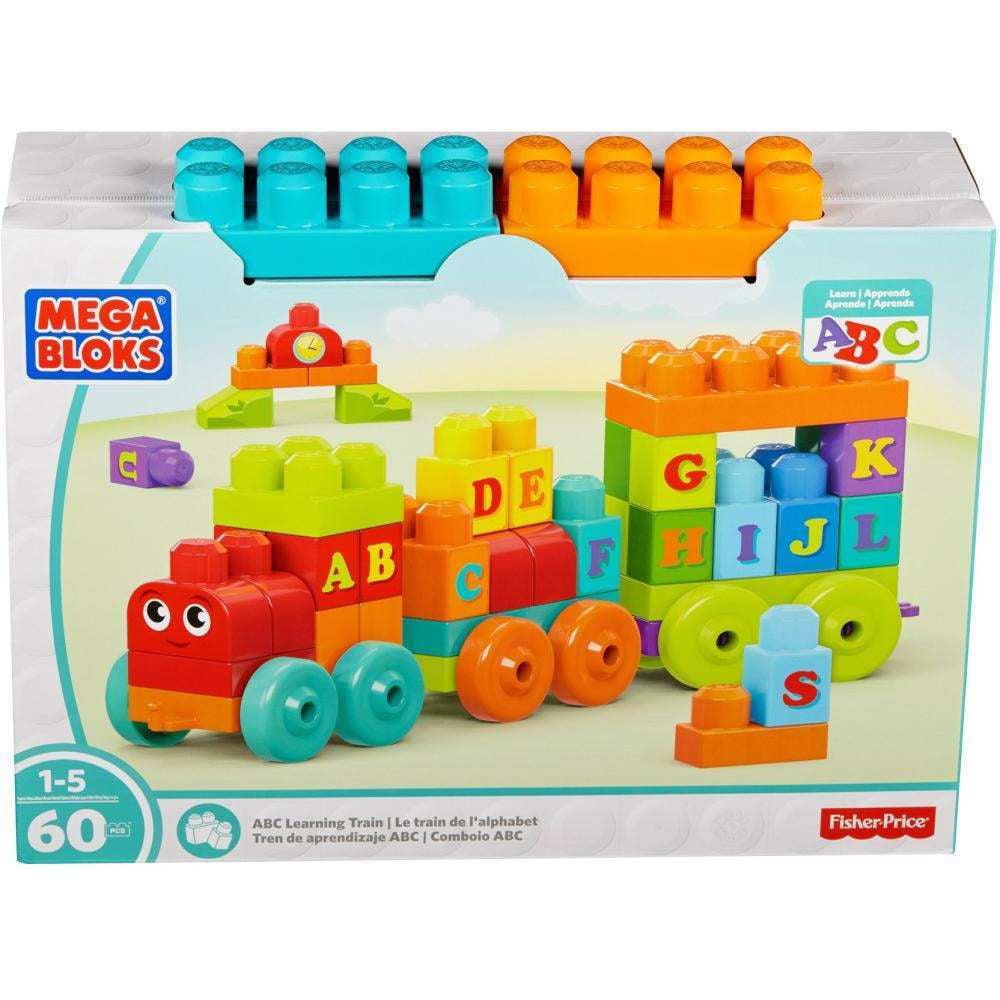 Mega Bloks ABC Learning Train Building Set by MEGA Brands, Inc