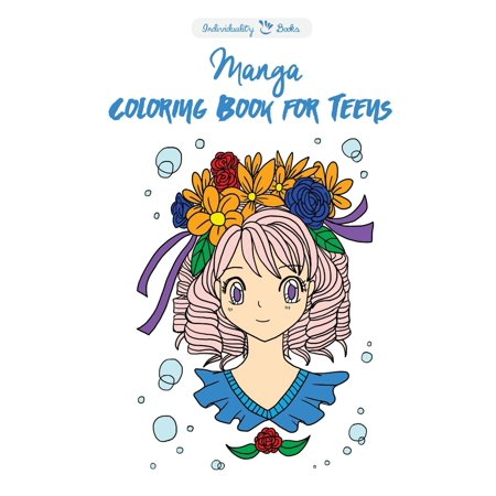 Manga Coloring Book for Teens (Paperback) - Walmart.com