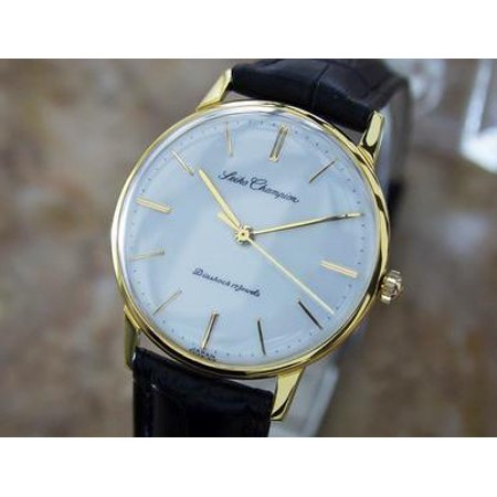 Seiko Champion 1950s Mens Vintage Japanese Manual Gold Plated Dress Watch U11