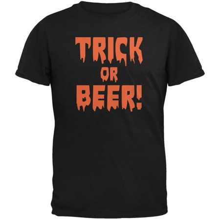 Halloween Beer Ideas (Halloween Trick or Beer Black Adult)