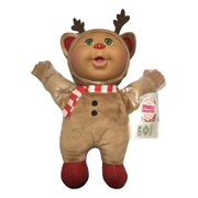 Cabbage Patch Kids Cuties Holiday Helper Collection 9 Inch Soft Body Baby Doll Sparkle Tink Reindeer