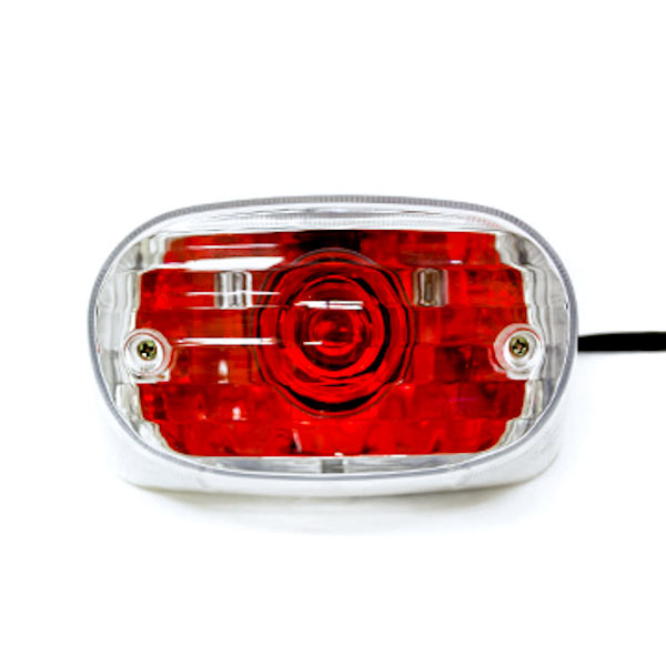 NEW Custom Taillight Brake Rear Tail Light Lamp For Harley Davidson Dyna Glide Fat Bob Super Wide - image 3 of 7