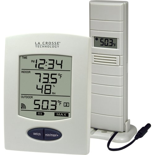 La Crosse Technology Wireless Weather Station Desktop Clock