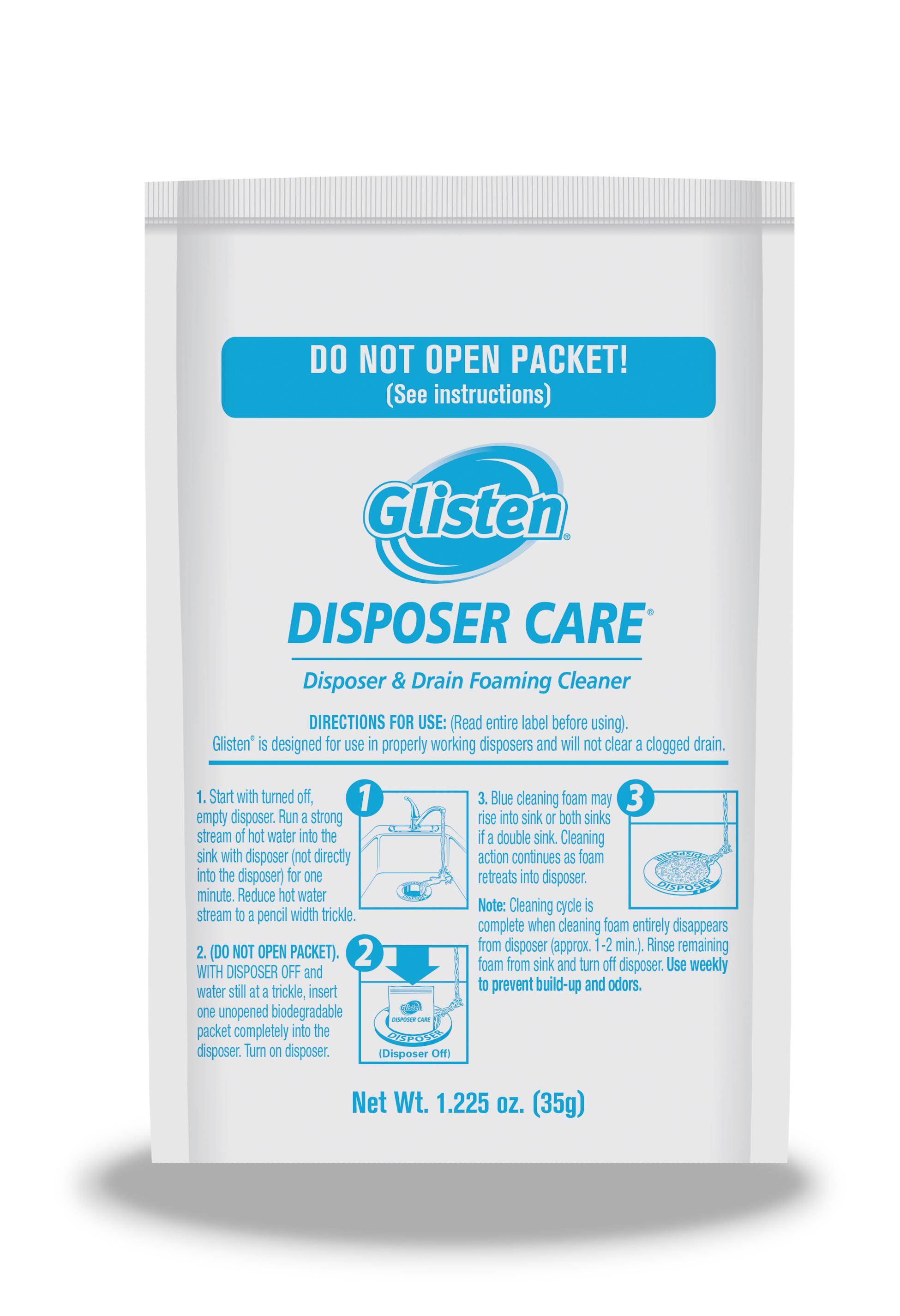 Glisten Disposer Care Cleaner, 4.9 OZ - Walmart.com