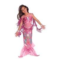 Girls Pink Mermaid Costume