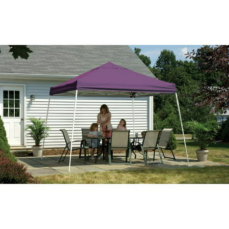 10' x 10' Sport Pop-up Canopy Slant Leg Purple Cover (Up Sports)