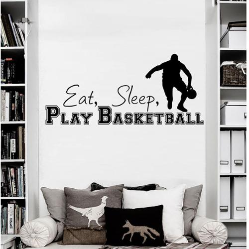 Stickalz llc Quotes Sports Game Wall Art Decal Sticker