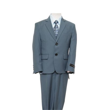 2 Button Vested Notch Lapel Boys Suits  Nile Green - 10 - image 1 of 1