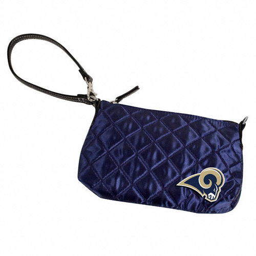Los Angeles Rams NFL Quilted Wristlet (Navy)