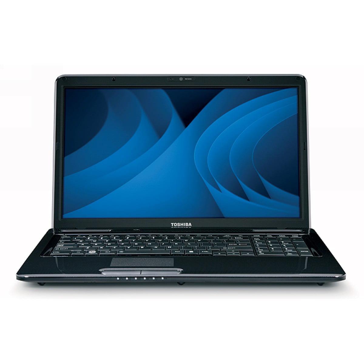 "Refurbished Toshiba L675D-S7106 Laptop 17.3"" AMD Triple Core 4GB Memory 500GB Drive Win 7"
