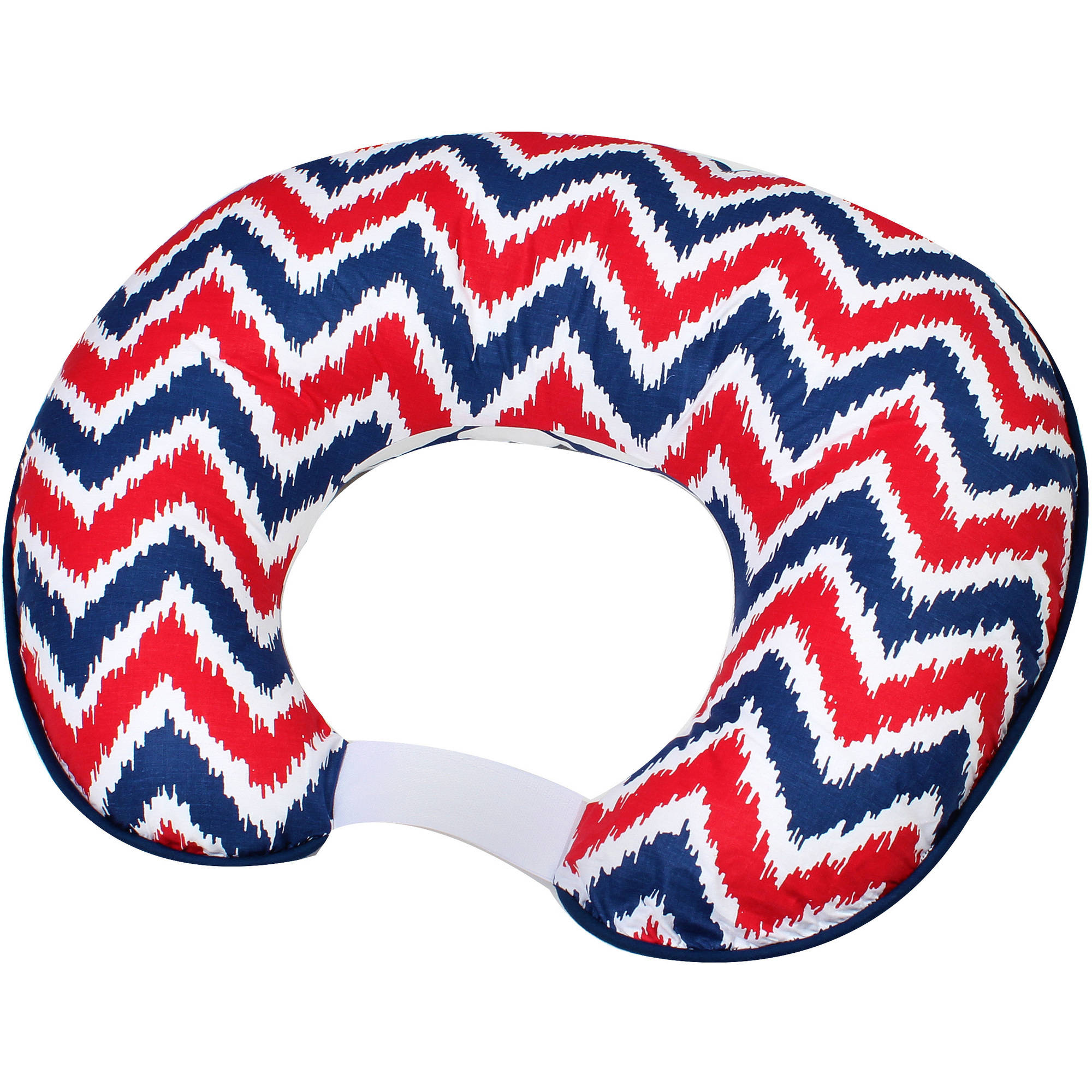 Bacati - MixNMatch Navy/Red Nursing Pillow Cover fits perfectly only Bacati - Hugster Nursing Pillow