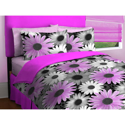 Photo Real Daisy Bedding Comforter Set