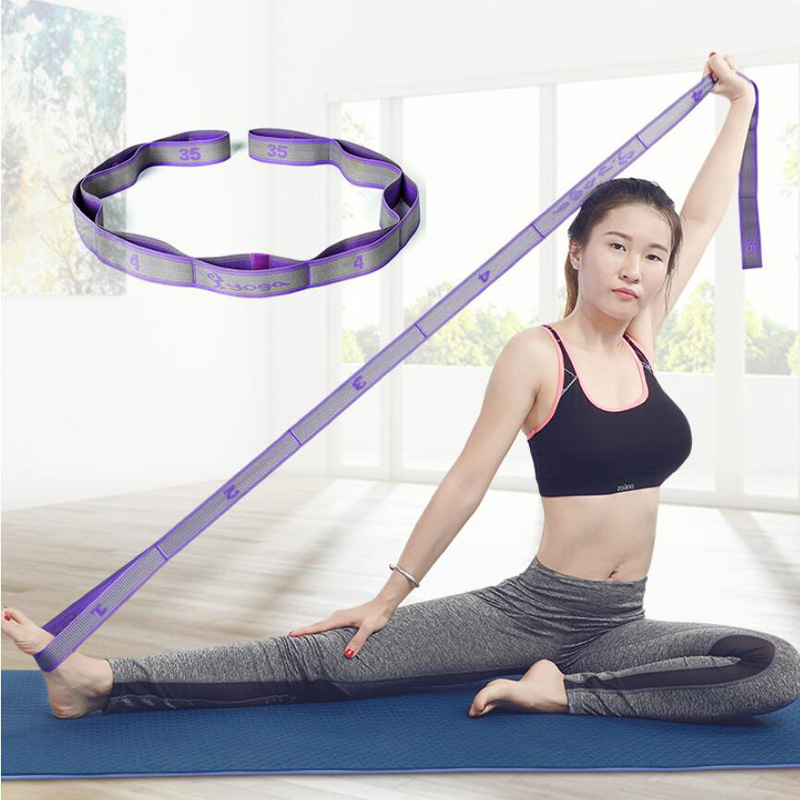 Resistance Bands Tube Exercise Elastic Band Fitness Equipment Yoga Loop Bands.